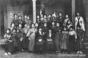 1920年東京第1組(香蘭女学校)