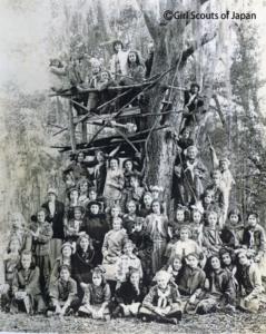 1914年頃アメリカのガールスカウト