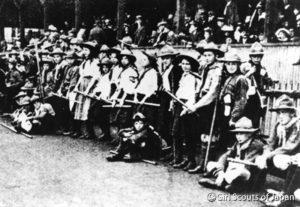 1908年イギリスの少女たち