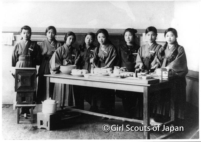 1920年頃の集会の写真