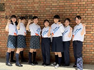 ユニリーバ・ジャパン 高校生インターンシップ実施メンバー